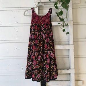 Free People sleeveless floral dress